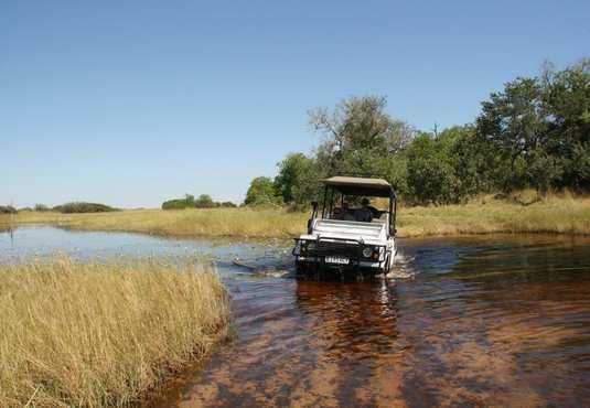 4x4 safari, Okavango Delta