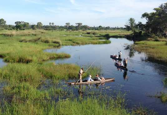 Mokoro safari, Okavango Delta