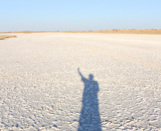 Alone in the Makgadikgadi