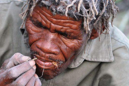 Bushman, Kalahari