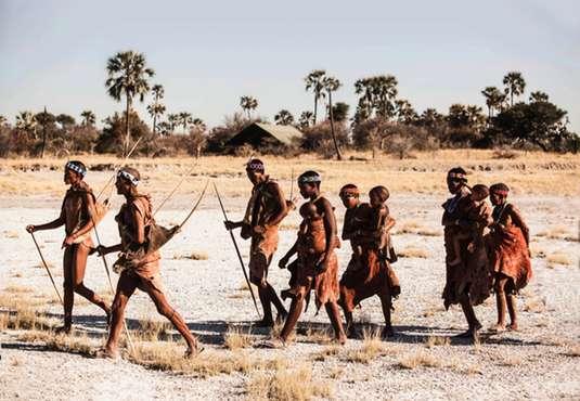 Bushmen family