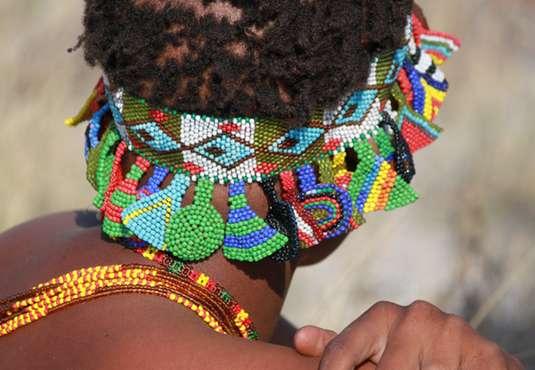 Bushmen jewellery