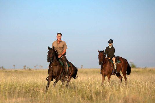 Horse riding, Kalahari