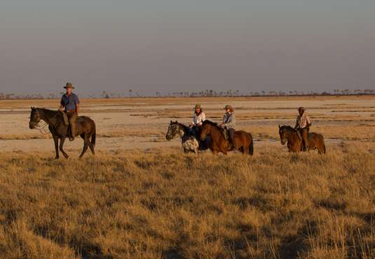 Horse riding, Land of a Thousand Hills, Botswana