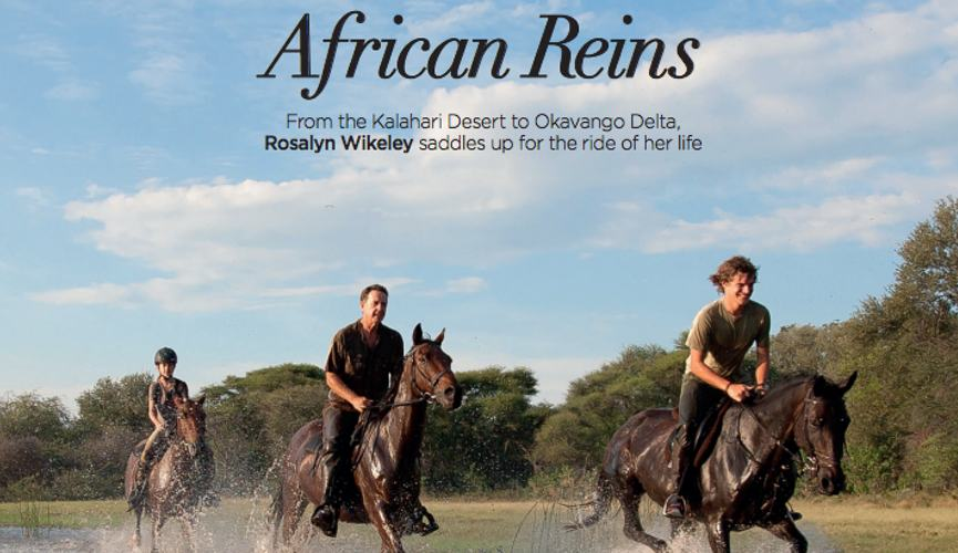 Food & Travel Magazine - African Reins